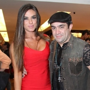 8.jul.2013 - Nicole Bahls e Evandro Santo, do