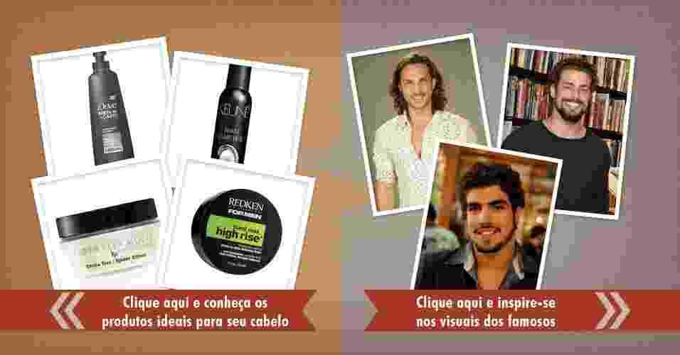 Produtos para os cabelos cacheados - ArteUOL/Victor Silva
