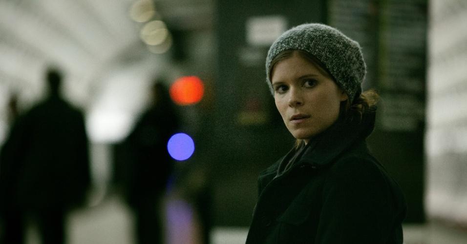 """11.jul.2013 - A atriz Kate Mara interpreta Zoe, uma jornalista em início de carreira, na série """"House of Cards"""", do Netflix"""