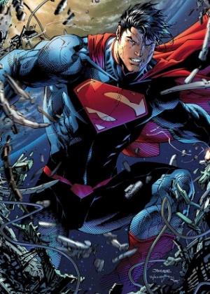 """Para filme de 2013, Superman também foi repaginado nas páginas das HQ""""s em """"The New 52"""" - Divulgação/DCComics"""