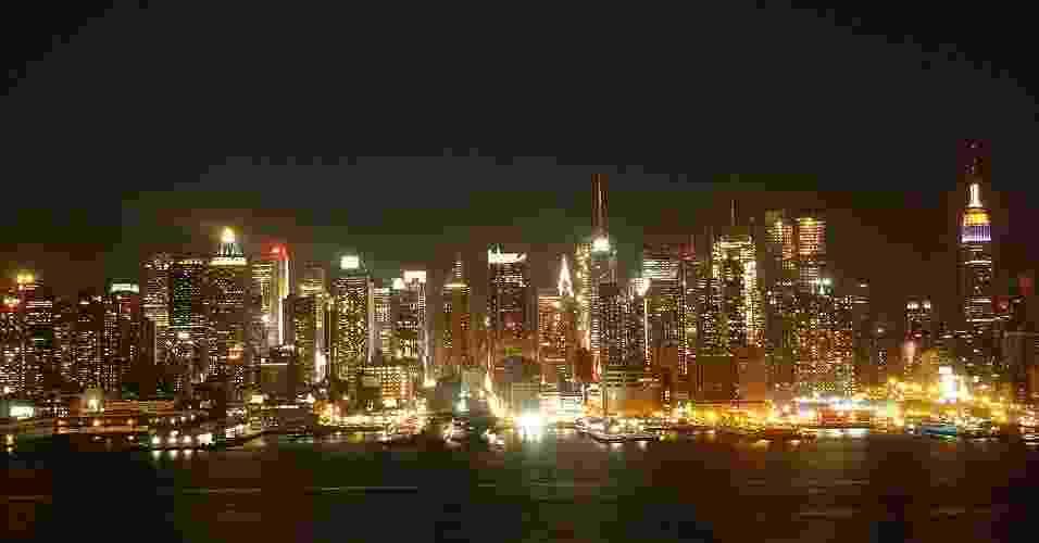 Vista do skyline de Nova Jersey - Beatriz Monteiro/UOL