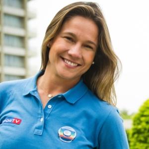 Fernanda Gentil diz que não se sente famosa. Jornalista cobre a Copa do Mundo pela TV Globo