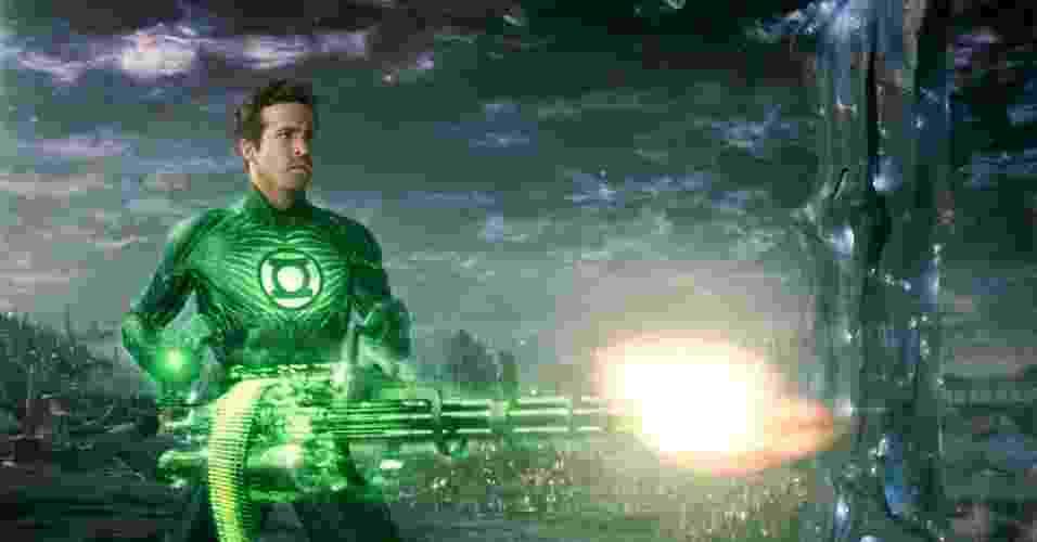 """Cena do filme """"Lanterna Verde"""" (2011) - Divulgação"""