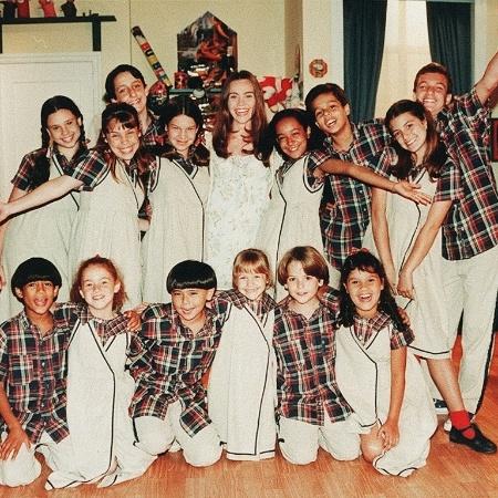 """Primeiro elenco de """"Chiquititas"""", que estreou em 1997 - TV Folha"""