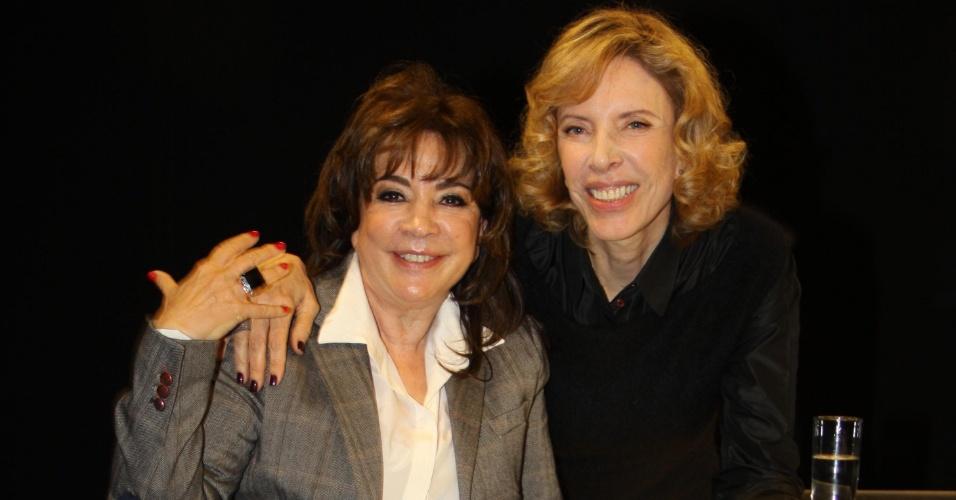 """Iris Abravanel durante entrevista para Marília Gabriela no """"De Frente Com Gabi"""""""