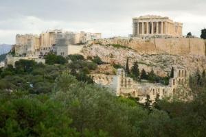 Ruínas da Acrópole de Atenas