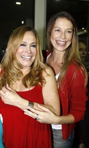 Susana Vieira e a atriz Luana Piovani
