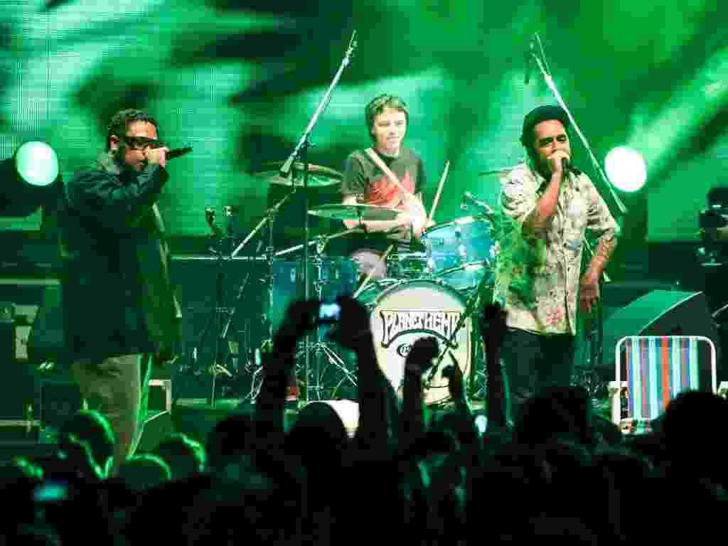 O grupo Planet Hemp voltou à estrada em 2012, se reunindo após um hiato de mais de uma década - Manuela Scarpa/Foto Rio News