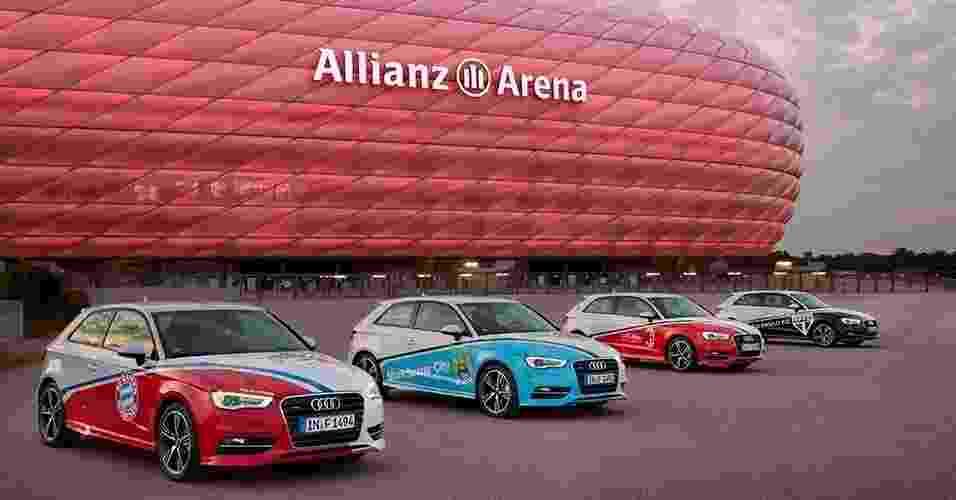 A3 da Audi Cup - Divulgação