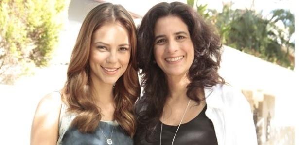 """Atriz Lúcia Veríssimo grava cenas como Mariah em """"Amor à Vida"""""""