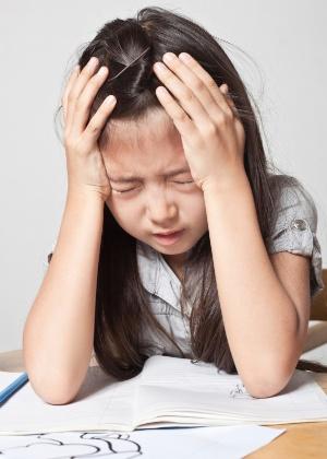 Na maioria das vezes, a dor de cabeça das crianças não indica uma doença perigosa - Thinkstock