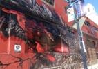 """Estúdio leva explosão atômica para a Comic-Con para apresentar """"Godzilla"""" - Natalia Engler/UOL"""