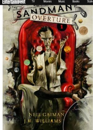 """Capa desenhada por Dave McKean para a nova edição da série """"Sandman"""", de Neil Gaiman"""