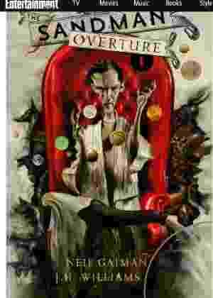 """Capa desenhada por Dave McKean para a nova edição da série """"Sandman"""", de Neil Gaiman - Reprodução/Entertainment Weekly"""