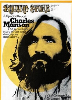 """Capa da revista """"Rolling Stone"""" com Charles Manson - Reprodução"""