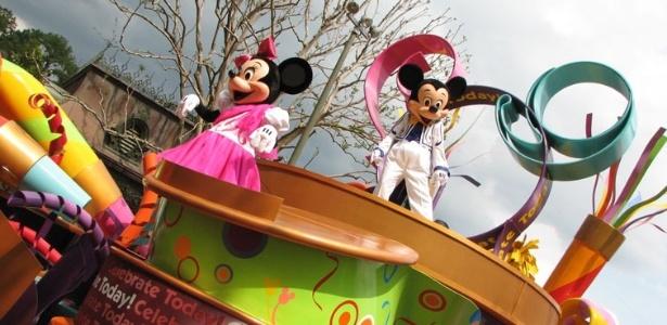 Inter vai participar de uma edição do Disney Parade, como a que desfila Mickey Mouse