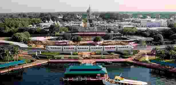 Vista aérea do Magic Kingdom da Disney - Walt Disney World/Divulgação