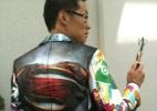 """Fã faz sucesso com """"cosplay"""" feito de sacolas da Comic-Con - Estefani Medeiros/UOL"""