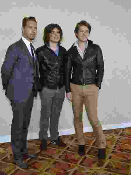 Os irmãos Taylor, Zac e Isaac Hanson no Rio de Janeiro, em 2013 - André Muzell/AgNews