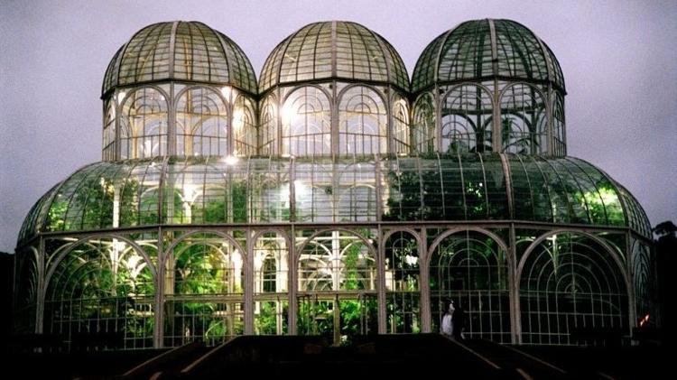 A estufa do Jardim Botânico, em Curitiba (PR) - Carolina Frederico/Folha Imagem