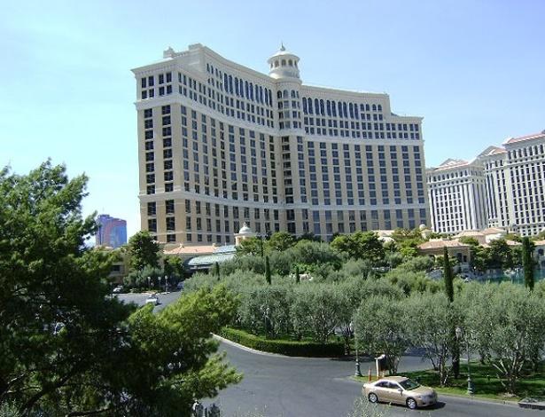 Fachada do Bellagio, em Las Vegas