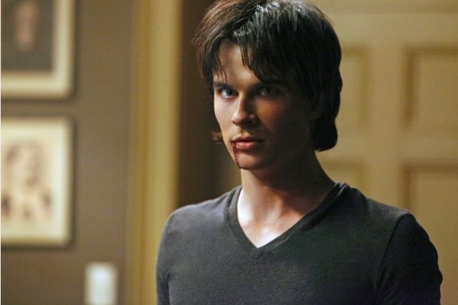 """Ian Sommerhelder em """"Vampire Diaries"""""""