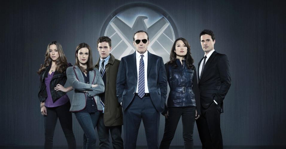 Personagens da série Marvel's Agents of S.H.I.E.L.D. que estreia em setembro na rede ABC