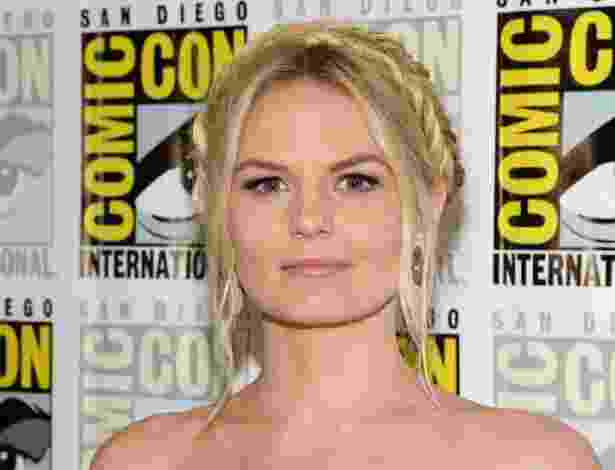 "20.jul.2013 - A atriz Jennifer Morrison em evento da série ""Once Upon a Time"" na Comic-Con - Ethan Miller/AFP"