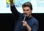 """Tom Cruise faz aparição surpresa em painel do filme """"Edge of Tomorrow"""" - Kevin Winter/AFP"""