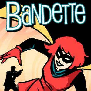 """""""BANDETTE"""" - Paul Tobin e Colleen Coover ganharam por Melhor HQ Digital - Reprodução"""