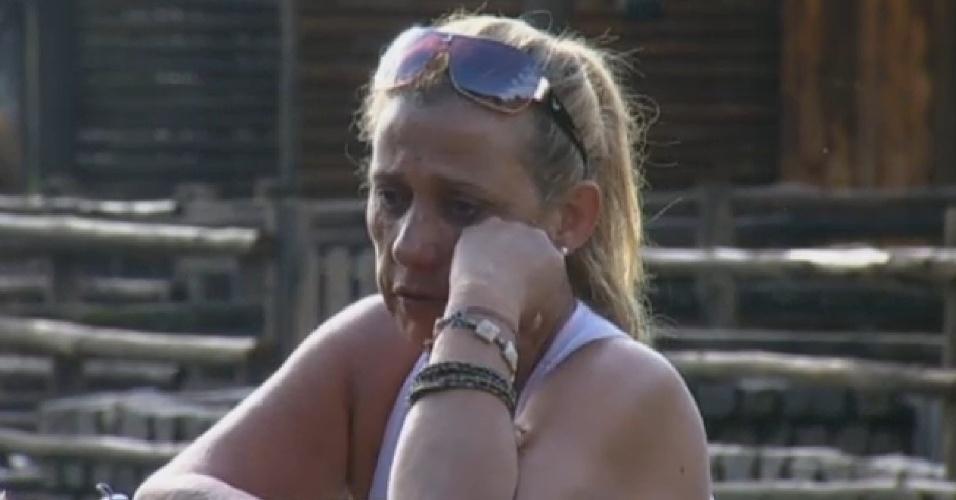 21.jul.2013 - Rita Cadillac diz que se sentiu traída por voto de Bárbara Evans