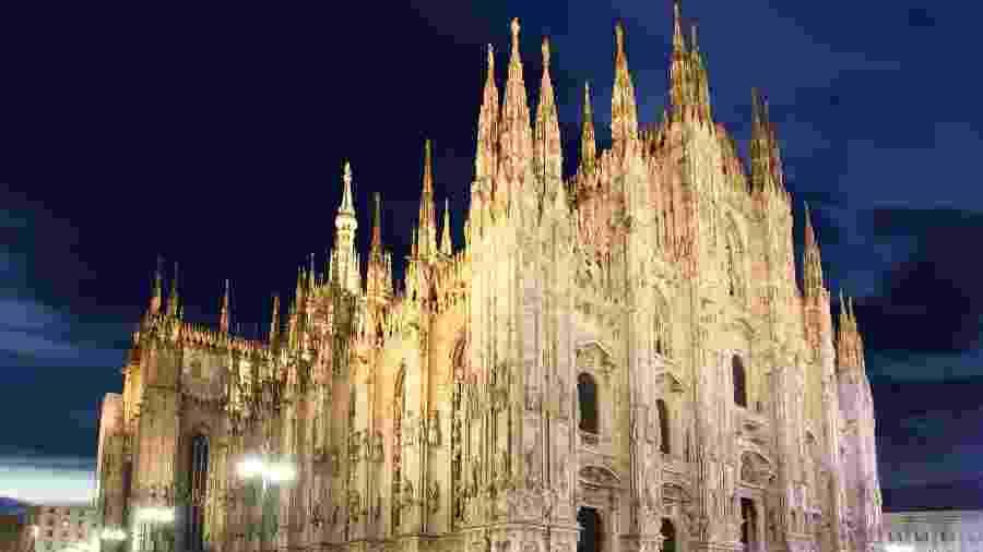O Duomo di Milão, um dos cartões postais italianos - Getty Images