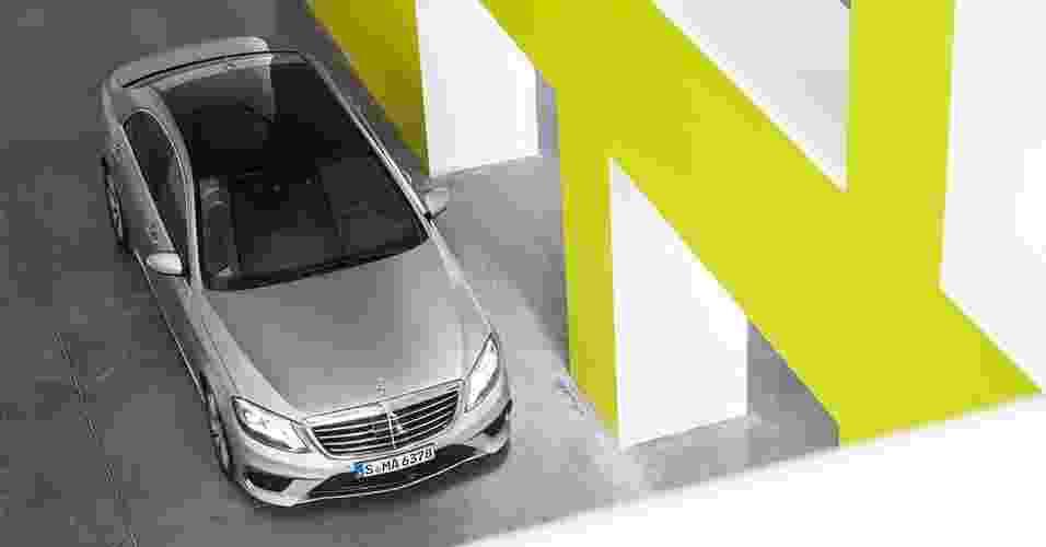 Mercedes-Benz S 63 AMG - Divulgação