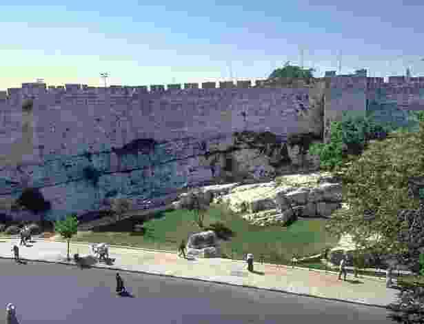 As muralhas da cidade de Jerusalém - Ministério de Turismo de Israel no Brasil/Divulgação