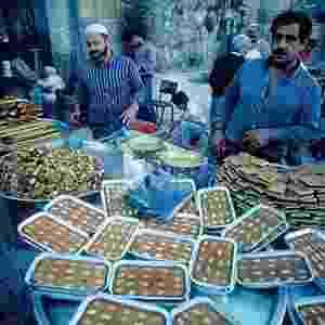 Souk (mercado) na parte árabe da Cidade Velha - Ministério de Turismo de Israel no Brasil/Divulgação