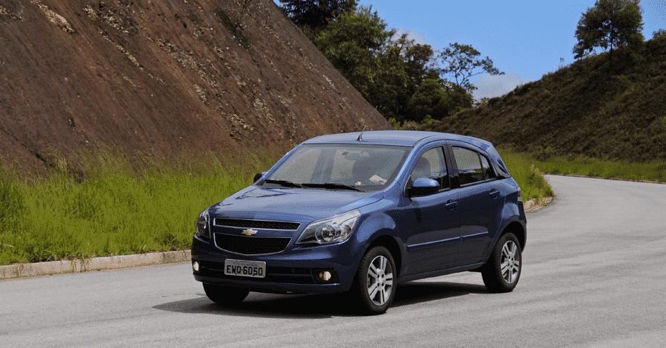 Chevrolet Agile - Murilo Góes/UOL