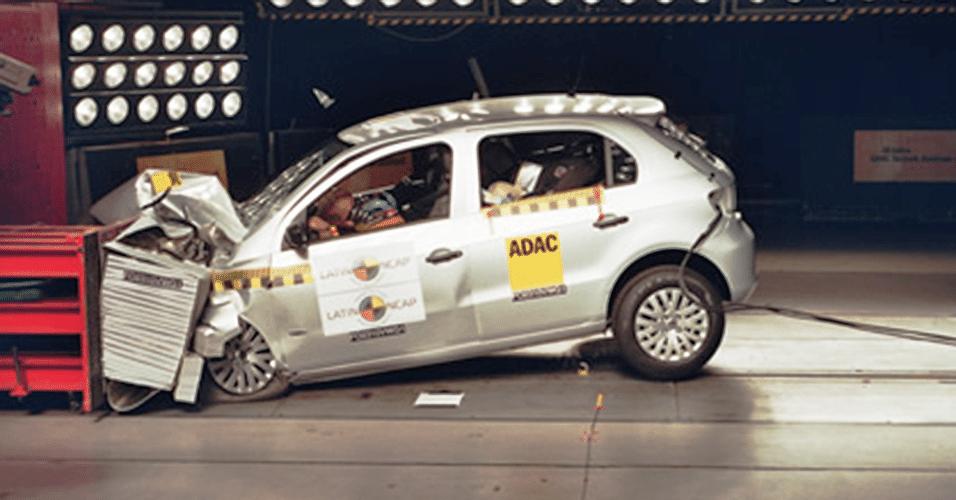 Volkswagen Gol sem airbags