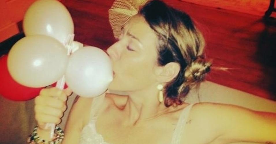 18.jul.2013 - Luana Piovani divulgou imagem da sua