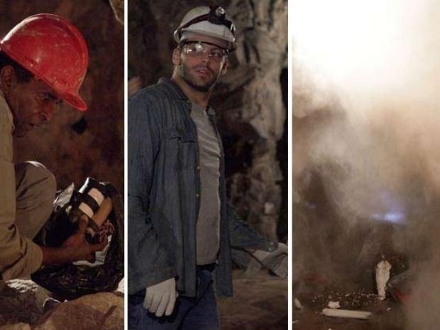 26.jul.2013 - alberto manda explodir a mina e cassiano fica soterrado