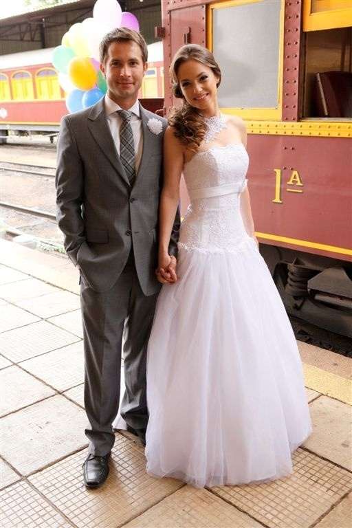 26.jul.2013 - Professora Helena se casa com René no último capítulo de