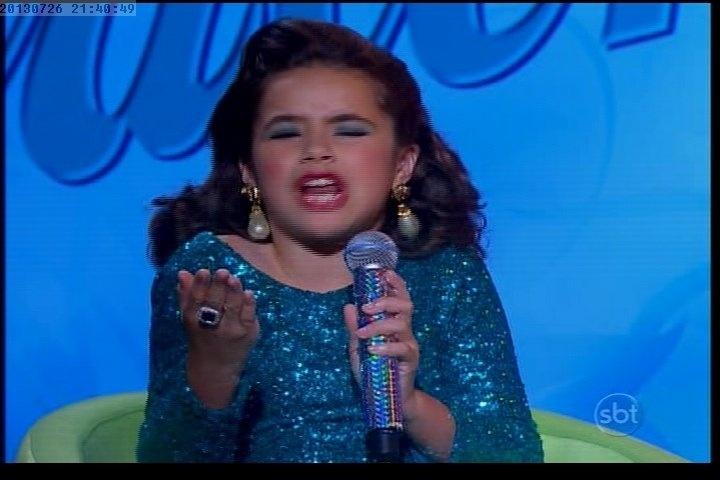 26.jul.2013 - Valéria terminou como apresentadora na atração