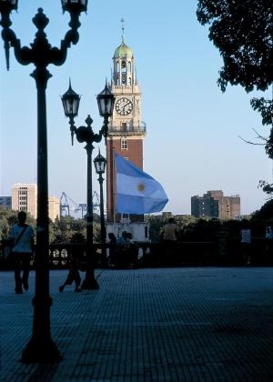 Plaza San Martín, um dos lugares mais agradáveis de Buenos Aires, próximo da turística Calle Florida - Ministerio de Turismo de Argentina/Divulgação