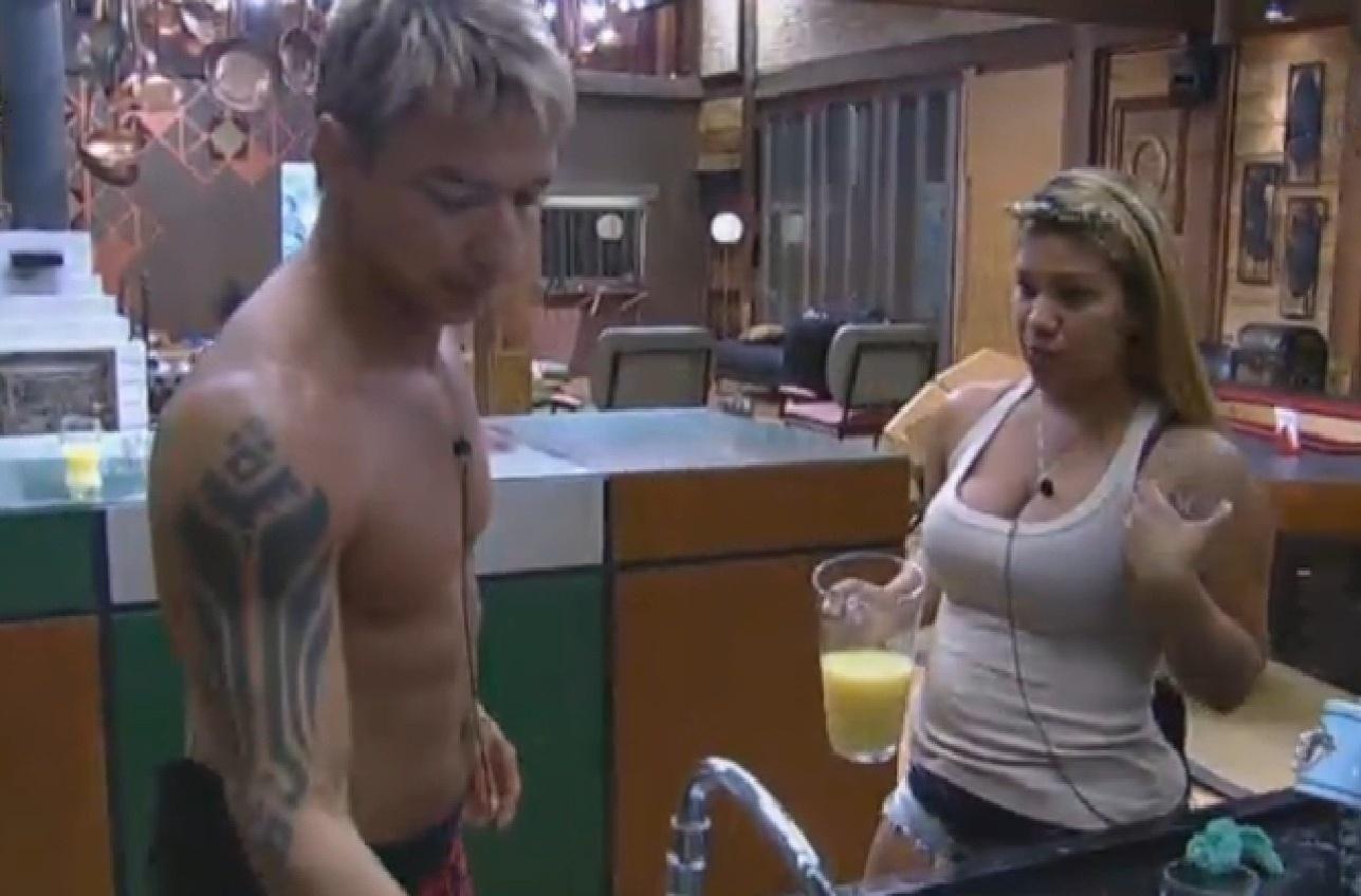 27.jul.2013 - Paulo Nunes e Yani falam sobre votação e acreditam que Andressa estará na roça