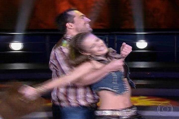 28.jul.2013 - dança dos famosos, repescagem daniel