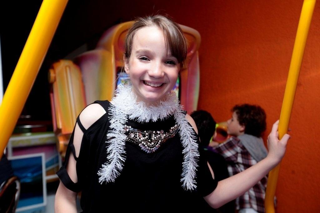 28.jul.2013 - Anna Livya Padilha, a Janu de