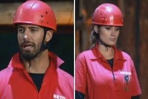 29.jul.2013 - Beto e Andressa vencem primeira etapa da prova do fazendeiro