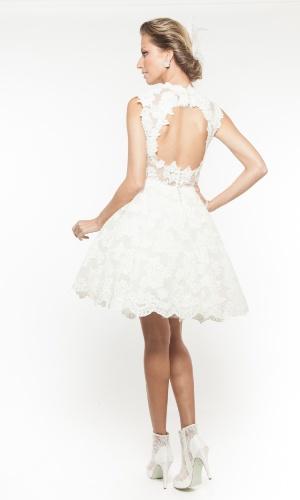 Vestido Adena, da Lucas Anderi; por R$ 9.100