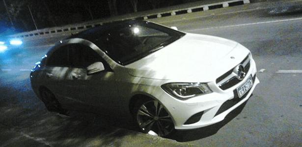 Mercedes-Benz CLA é flagrado sem qualquer disfarce, mas com placas verdes, em São Bernardo do Campo (SP)