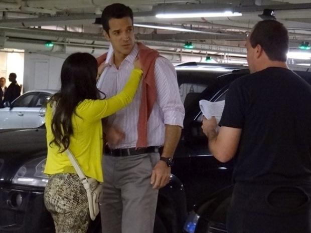 """30.jul.2013 - Carlos Machado grava primeiras cenas como o ricaço Ignácio, de """"Amor à Vida"""""""