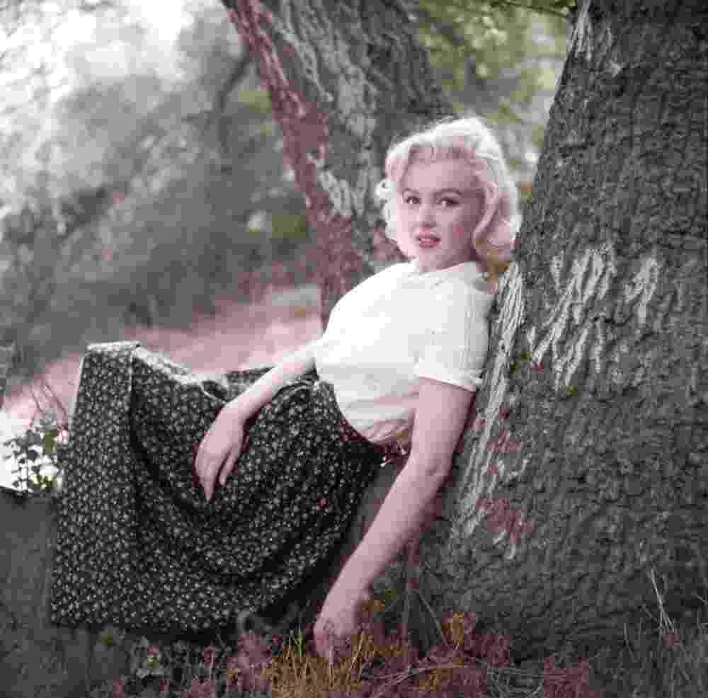 31.jul.2013 - Foto inédita de Marilyn Monroe que faz parte de coleção de 75 mil imagens de Milton Greene arrematadas por US$ 1,8 milhão - Milton Greene